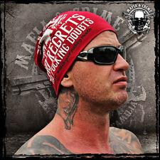 * * * mafia & crime Inc. // bonnet rouge MC // produit NEUF // unisexe