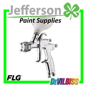 DEVILBISS FLG-5 Gravity Spray Gun Basecoat / Clear Gun - 905166 / 905167