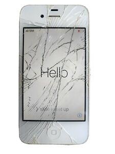Apple iPhone 4s - 32GB - White A1387 (CDMA + GSM) IC Locked