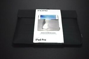Incipio Delta Protective Quilted Sleeve for iPad Pro in Black - New