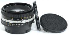 NIKON Series E 50mm f/1.8 Pancake Prime Ai-s Lens FULL FRAME Digital or Film
