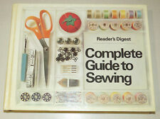 Reader's Digest Complete Guide to Sewing - 1978, vintage hardcover