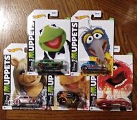 The Muppets Complete Set of 5 - Hot Wheels Basic (2021)