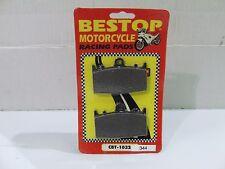 Bestop Husaberg, Kawasaki, Suzuki, Beringer Racing Brake Pads VD344 SBS631