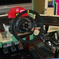 Thrustmaster T-GT, T500 rs,T500, T300, TX  MOD / MOD sgancio rapido