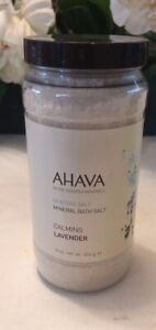 Ahava Dead Sea Salt Mineral Bath Salts Lavender 16 oz  Full
