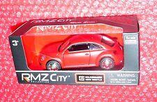 RMZ City Collection #42 Volkswagen New Beetle  Matte Series red