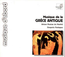 Greece: Musique de la Grece Antique by Atrium Musicae de Madrid 2000 Import