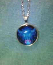 Vibrant Shimmery TAURUS Glass Dome Necklace Pendant Zodiac Horoscope Birthday