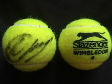 TENNIS: LESIA TSURENKO SIGNED SLAZENGER WIMBLEDON TENNIS BALL+COA *PROOF*