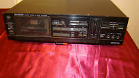 Kenwood Stereo KX-87CR  Single  Cassette Deck made in Japan