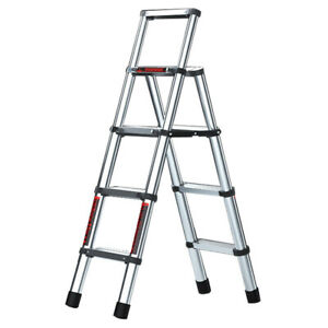 Multifunctional Telescopic Lifting Stairs Aluminum alloy Portable ladder