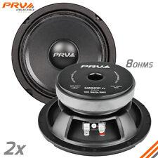 2x PRV Audio 6MB200 Mid Bass Car Stereo 6.5
