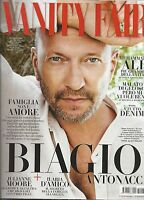 Vanity Fair Magazine Biagio Antonacci Muhammad Ali Julianne Moore Ilaria Damico