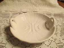 LOUCARTE Pottery  -  White Pottery Dish with Handles  -  Made in Portugal