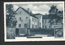 SCHÖLLKRIPPEN << Rathaus , vorher Schloss, Versehrtenheim...m. Wappen >> s/w AK