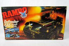 Vtg 1986 Coleco Rambo Defender 6X6 Assault Off Road Vehicle NEW Sealed in Box