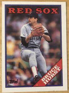 Topps '88 MLB Trading Card - #125 Bruce Hurst - BOSTON RED SOX
