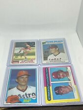 New listing Nolan Ryan 4 card lot including 1975, 1977, 1981, and 1982 Topps