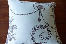 "Laura Ashley 'Josette Duck Egg Blue fabric Cushion Cover 11.5"" x 11.5"" Stunning!"