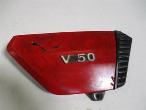 1. MOTO GUZZI V50 III TYP PB V 50 Verkleidung Sitzbank Seite rechts Seitendeckel