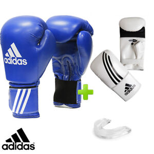 New! adidas Sparring Boxing Gloves Set! Includes Bag Gloves & Mouthguard