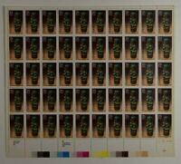 US SCOTT 2426 PANE OF 50 AMERICAN ART STAMPS 25 CENT FACE MNH