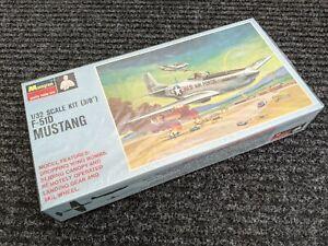 MONOGRAM F-51D MUSTANG Fighter Plane Model Kit original 1966 FACTORY SEALED