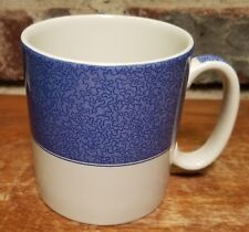"""Spode VERMICELLI BLUE Mug, 3 1/4"""", S3637 Mottled Rim New with tags, NWT"""