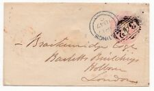 Numeral Cancellation Used British Postal History