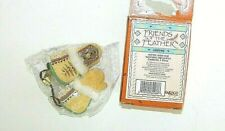 New Friends of the Feather Enesco Mitten with Fur Hanging Ornament