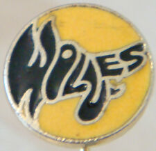 Wolverhampton Wanderers vintage badge Maker Marples & Beasley Stick PIN 14 mm Dia