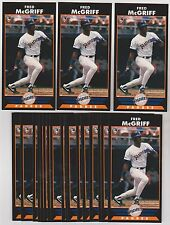 Lot of 20 1993 Diamond Marks Book Markers FRED MCGRIFF Cards