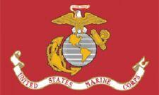 3'x5' Marines Nylon Flag USMC US Corps USA Military Semper Fi Patriotic HUGE 3x5