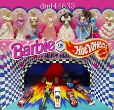 1993 McDonalds Barbie MIP Complete Set - Lot of 8, Girls, 3+