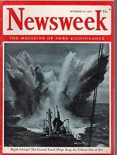 1942 Newsweek October 26-Rommel returns to desert;Himmler goes to weary Italy