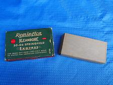 Vintage Remington Kleanbore 30-06 Springfield Express Bullet Empty Ammo Box