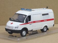 GAZ 32214 Ambulance, White, 1/43, IXO/IST/Kultowe Auta, M. AMJO-Cabinet/2