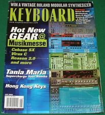 2002 HONG KONG Keys Roland XV-5050 VS-2480 Machinedrum Reviews Keyboard Magazine