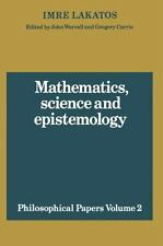 Mathematics, Science and Epistemology: Volume 2, Philosophical Papers (Philosoph