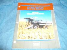 Allis-Chalmers Deutz Allis R70/R60 Rotary Gleaner Combine Brochure AED 1107-8611