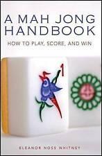 Mah Jong Handbook by Eleanor N. Whitney (Paperback, 2007)