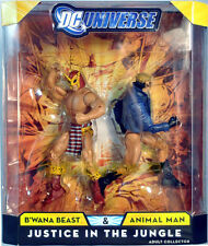 DC Universe Classics B'WANA BEAST ANIMAL MAN Justice In The Jungle Figure 2-Pack