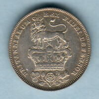 Great Britain. 1828 George IV - Sixpence.. gVF - Trace Lustre