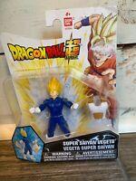 Ban Dai Dragon Ball Z Super Power Up Saiyan Vegeta 4 inch Action Figure