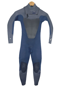 Billabong Childs Full Wetsuit Youth Size 8 Foil 3/2 Chest Zip - Taped Seams!