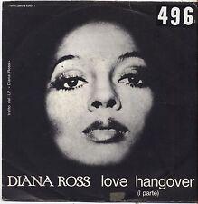 "DIANA ROSS - Love hangover - VINYL 7"" 45 LP ITALY 1976 VG+ COVER  VG- CONDITION"