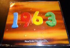 """NEW ORDER """"Nineteen63/1963"""" (UK CD-Single 1995) 4-Tracks Arthur Baker ***VG***"""
