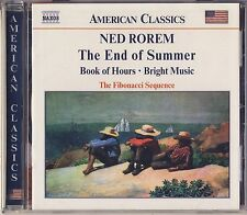 Rorem - Fibonacci Sequence: The End of Summer, Book of Hours, Bright Music New