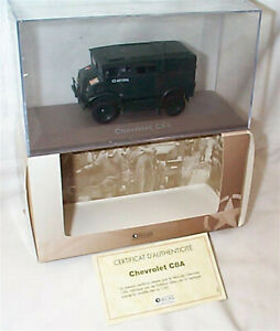 Chevrolet C8A Atlas 1-43 scale new in case with certificate